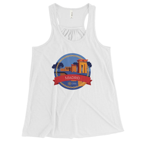 CEA Madrid Racerback Tank Top