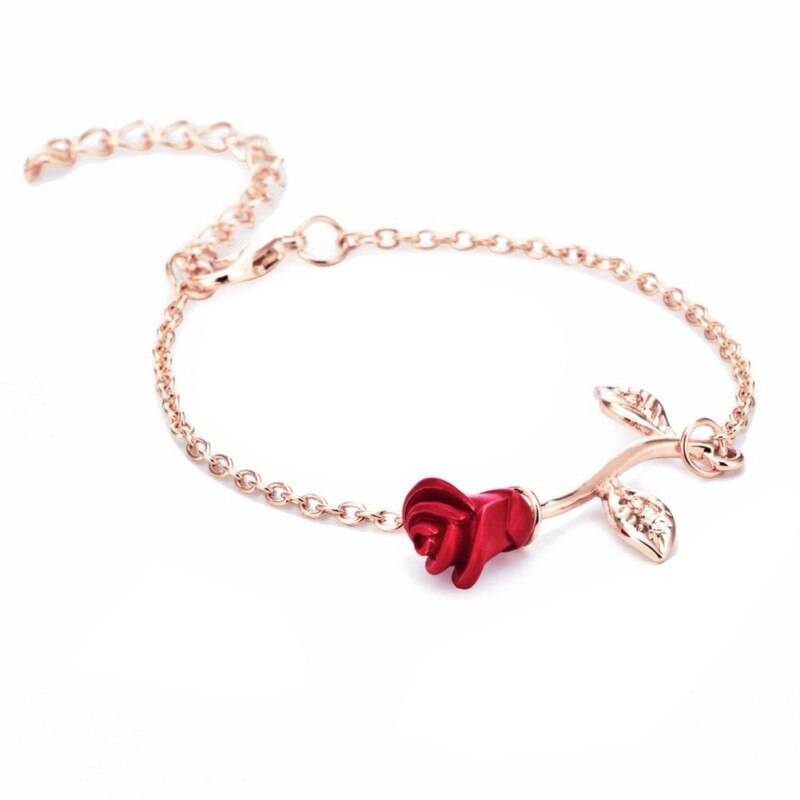Red Rose Bracelet - Soldify