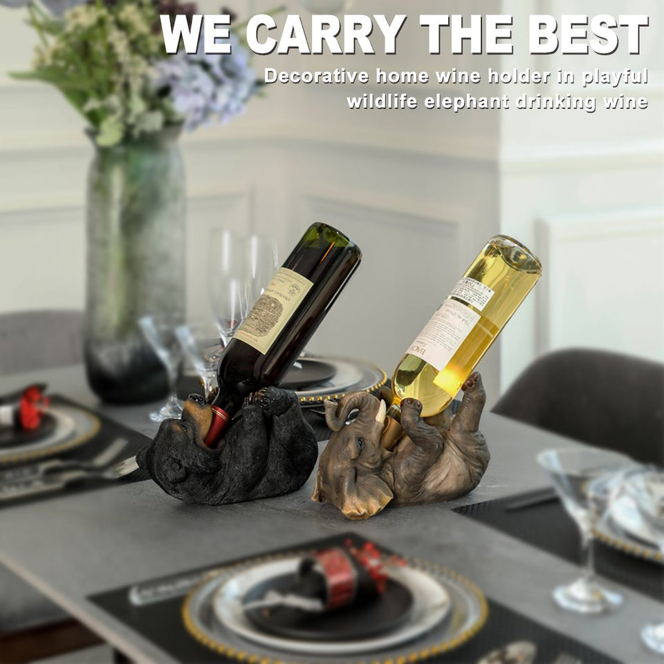 Bear Wine Holder - Soldify