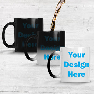 Personalized Magic Mug Heat Sensitive Ceramic - Soldify