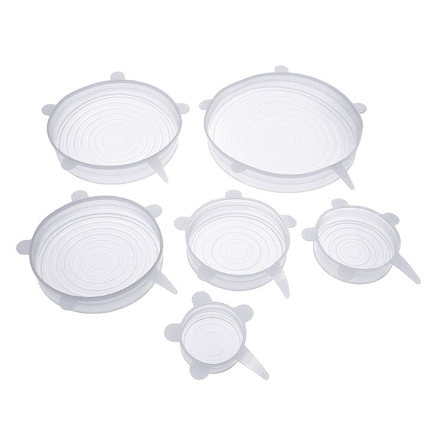 Stretch & Seal Lids (6 Pieces) - Soldify