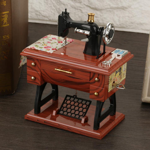 Mini Sewing Machine Music Box - Soldify