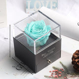 Eternal Rose Preserved In Glass Dome - Soldify