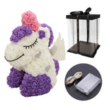 Rose Unicorn Valentine's Day Gift - Soldify