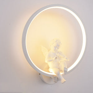 Wall Lamps indoor Minimalist art Sconce Interior with angel - Soldify