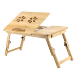table de lit en bois