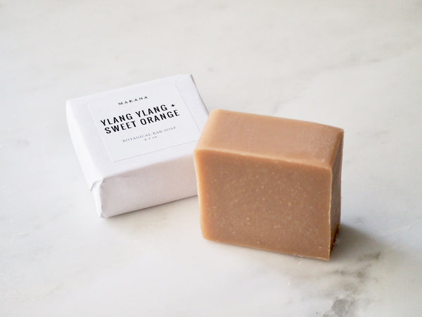 Ylang Ylang + Sweet Orange Botanical Body Bar