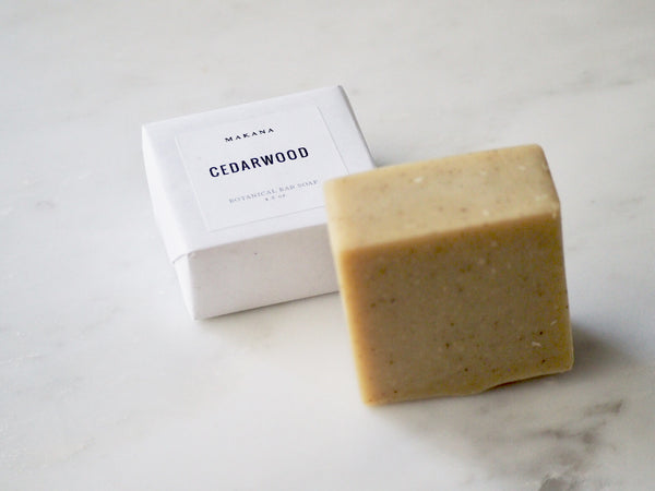 Cedarwood Botanical Body Bar
