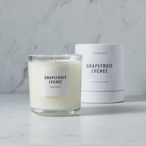 Grapefruit Lychee - Classic Candle