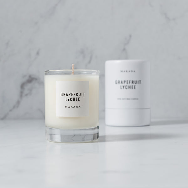 Grapefruit Lychee - Petite Candle