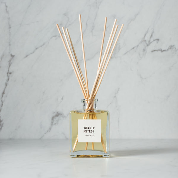 Ginger Citron - Reed Diffuser
