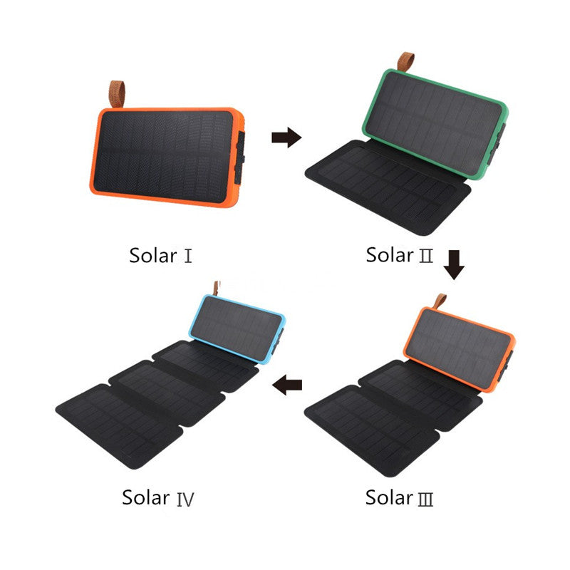 7W Solar Panel Foldable Charger