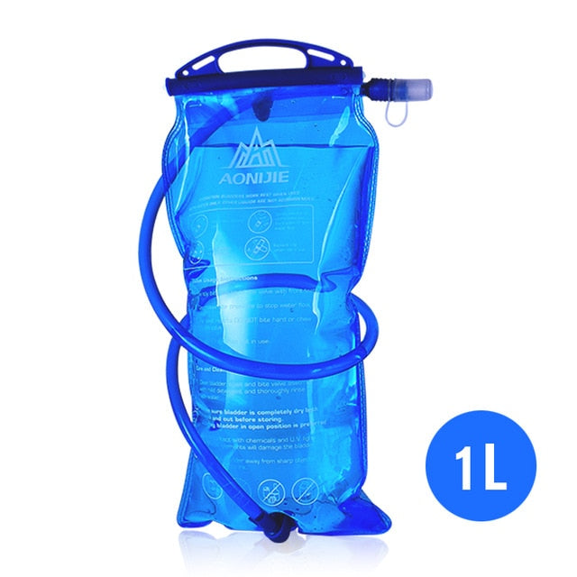 Water Hydration Pack Storage Bag BPA Free - 1L 1.5L 2L 3L