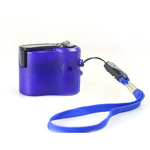 USB Phone Crank Emergency Charger