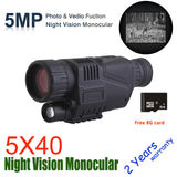 Infrared Digital Night Vision Monoculars