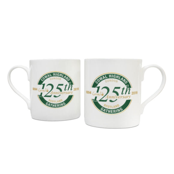 125th Anniversary China Mug