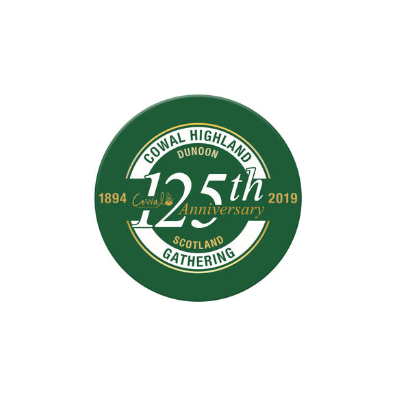 125th Anniversary Fridge Magnet
