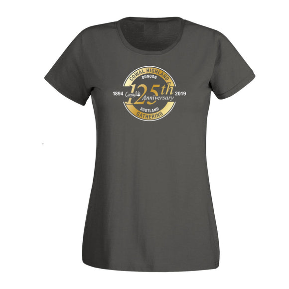 125th Anniversary Ladies Fitted T-Shirt