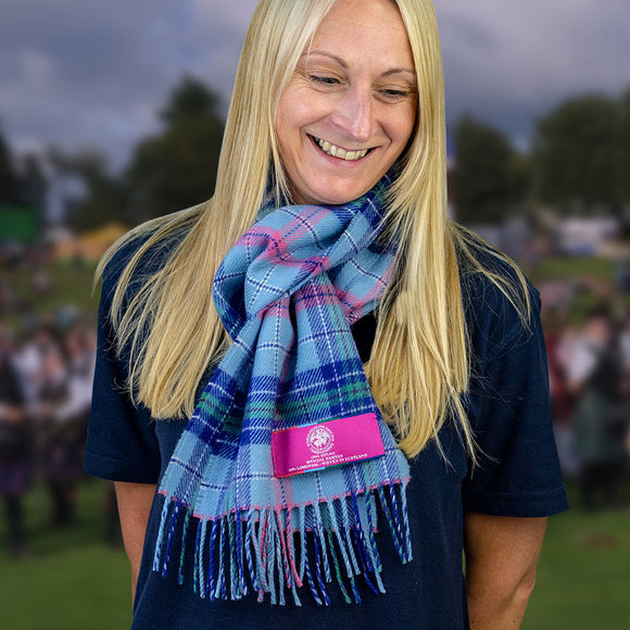 Official WHDC Lambswool Tartan Scarf