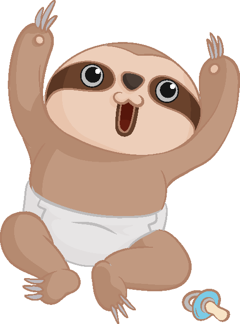 Design a Sloth to send as a toy gift