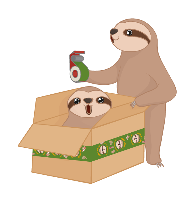 Deliver the Send a Sloth Sloth!