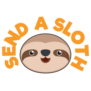 Send a Sloth Logo - The Ultimate Surprise Gift Artwork Image