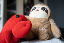 Load image into Gallery viewer, Lob a Lobster Plush Toy