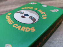 Load image into Gallery viewer, Sloth Sureslip Playing Cards