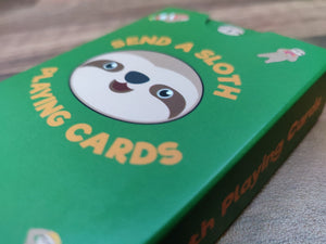 Sloth Sureslip Playing Cards
