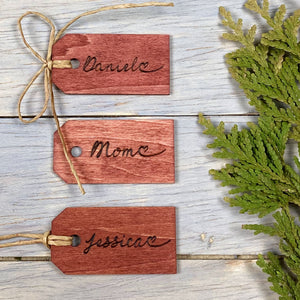 Personalised Gift Tags | Name Tags | Christmas Gift