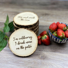 Load image into Gallery viewer, Wine Coasters - Set of 6