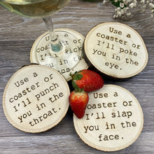 Load image into Gallery viewer, Use a Coaster Coasters - Set of 4