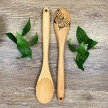 Load image into Gallery viewer, Butterfly Wooden Spoon