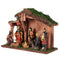 Realistic Nativity/Crib Set 7.5 Inches