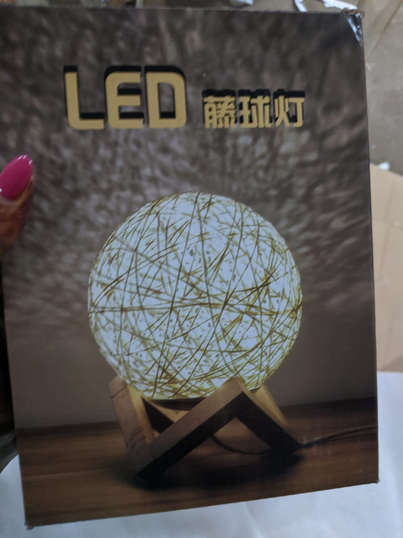 Ball Shaped LED lamp with stand