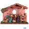 Realistic Nativity/Crib Set 6 Inches