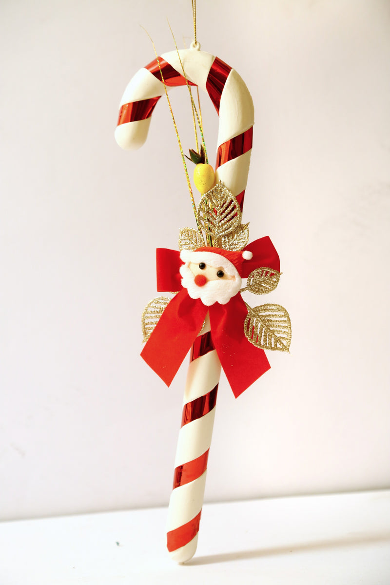 Candy Stick Hanging Wall Decoration (White)