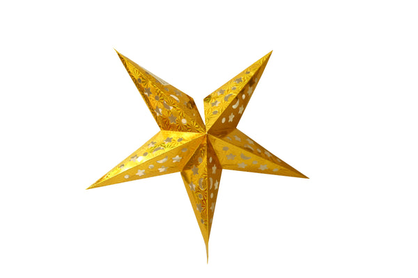 Foldable Paper Star 120 cm (Colors available Red , Gold , Silver , Blue , Pink , Green)