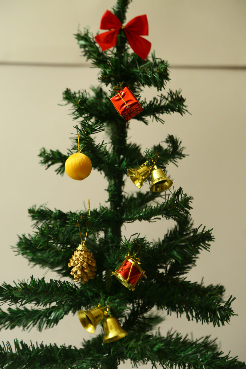 Assorted Tree Decoration Pack (Bells, Gift Boxes, Pines, Bow and Balls)