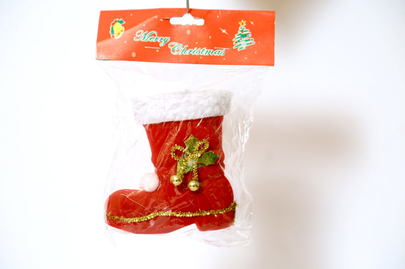 Santa Claus Hanging Shoe Decoration