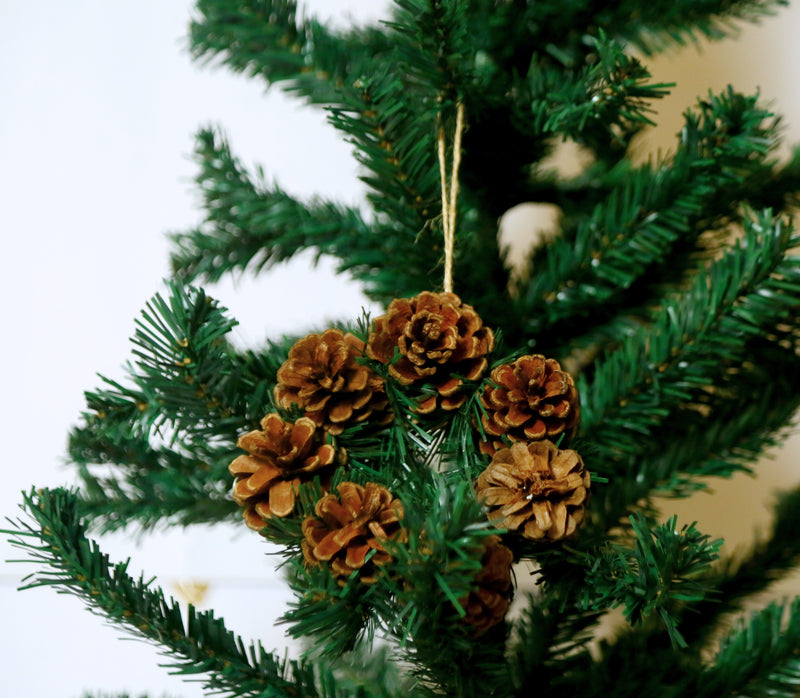 Christmas Wreath with Pines