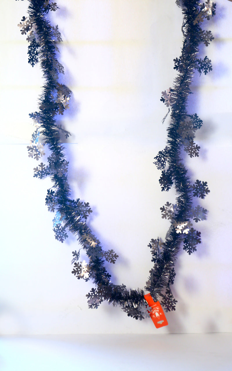 Matte Finish Garland/Streamer Decoration (5 Types of 6 Different Colors each)