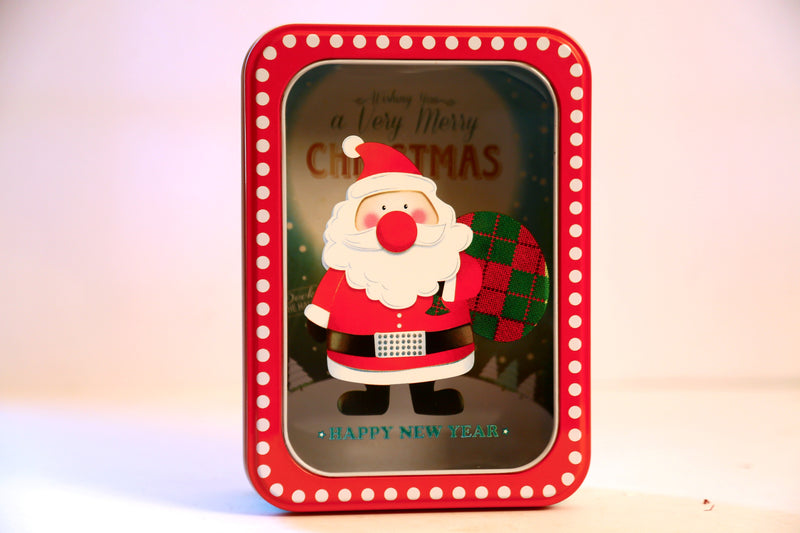 Christmas Metal Box (3 Types Available)