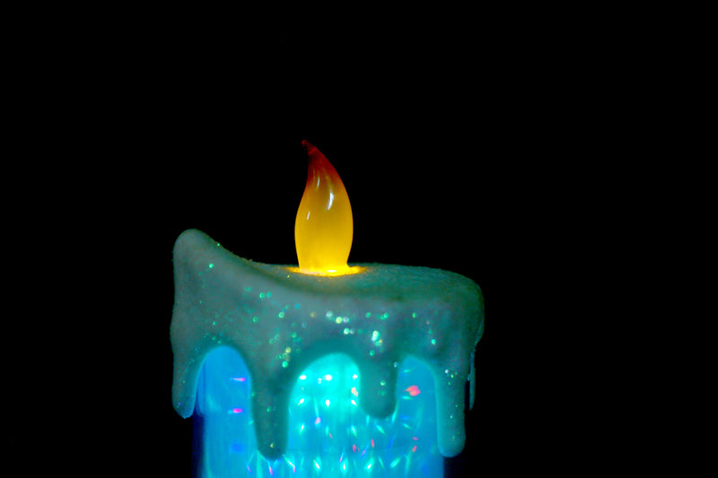 LED Operated Christmas Candle