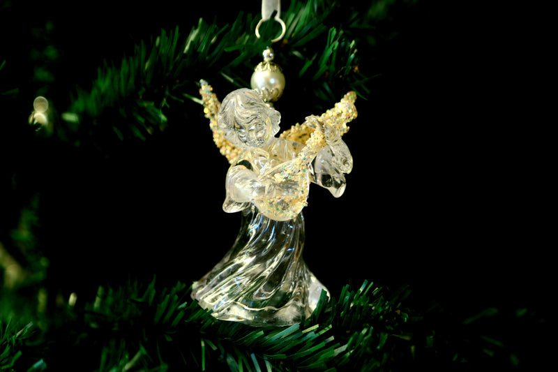 Angel Christmas Star Tree Ornament (Two Types)