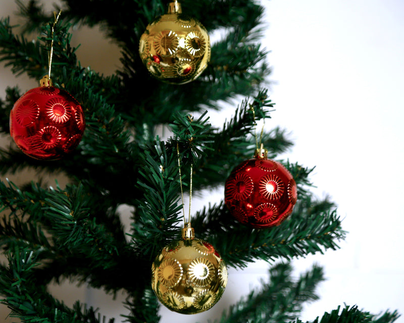 Assorted Ball decoration Tree Ornament Pack of 24