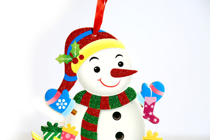 Snowman Wall Decoration