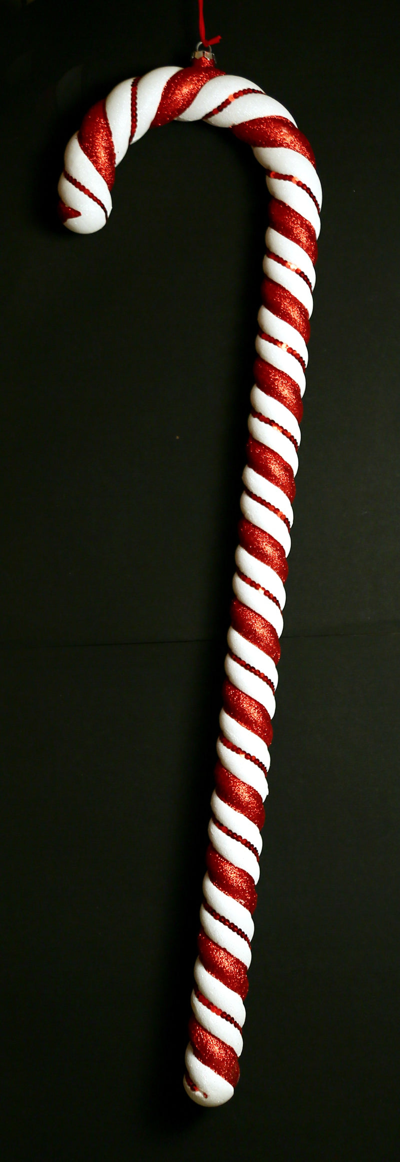 Glittery Christmas Candy Sticks Decoration