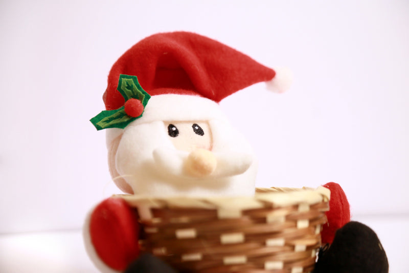 Santa Christmas Basket