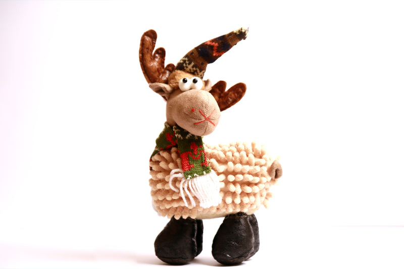 Christmas Sheep Soft Toy